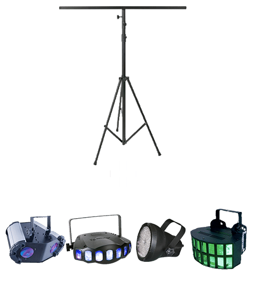 Pack ECLAIRAGES-location jeux de lumiere rennes